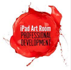 iPad Art Room – We can create a PD for you! Middle School Art, Art School, Art Education Resources, Tech Art, Art Teachers, Teacher Blogs, Art Curriculum, Computer Art, Ipad Art