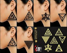 SVG, DXF digital files for crisp clear cutting by Tribal Earrings, Circle Earrings, Leather Earrings, Leather Jewelry, Etsy Earrings, Triquetra, Laser Cut Jewelry, 3d Prints, Wall Signs