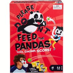 Superb Please Feed the Pandas Kids Game Now at Smyths Toys UK. Shop for Childrens Board Games At Great Prices. Free Home Delivery for orders over Family Game Night, Family Games, Fun Games, Games For Kids, Panda Maske, Childrens Board Games, Christmas Presents For Kids, Toys Uk, Typing Games