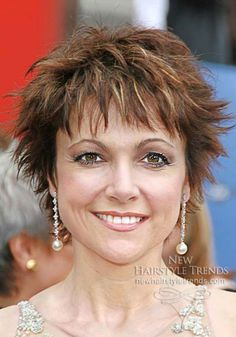 women short haircuts over 50 | short haircuts for women over 40 with fine hair )