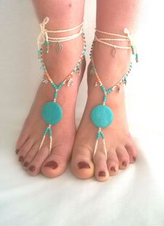 Barefoot Sandals Barefoot Beach Jewelry by BarefootSandalsOnly