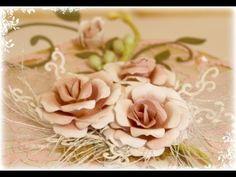 Flower Tutorial using Cheery Lynn Gardenia Die Strip by Gabrielle Pollacco
