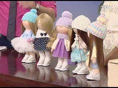 Мастер класс по интерьерной кукле - YouTube