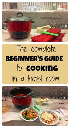 A lot of time in hotels? Learn how to do hotel room cooking in 4 easy steps…