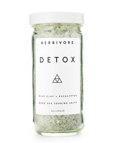 Detox Bath Salts are formulated to detoxify your body and clear your mind. We use a blend of lavender and eucalyptus essential oils along with highly detoxifying Cambrian Blue clay. Add a handful of t