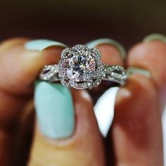 Love this stunning Verragio ring! -- 60 Stunning Jewelry Pieces From Pinterest @styleestate
