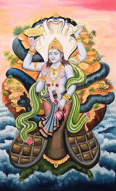 Vishnu Kurma-avatara
