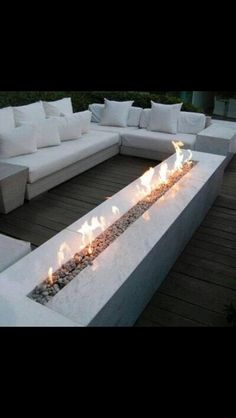 Love this, outdoor fire