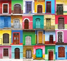 Las Puertas de Granada, Nicaragua (everything is so colorful! dutch style houses with inner courtyards are popular)