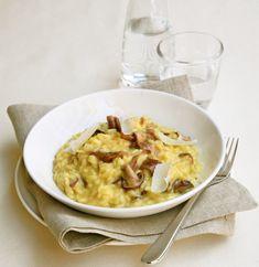 Ριζότο με μανιτάρια και ζωμό κοτόπουλου Macaroni And Cheese, Ethnic Recipes, Food, Grande, Greek, Kitchens, Mac And Cheese, Essen, Meals