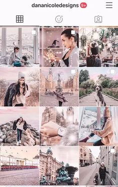 20+ of the hottest Instagram feed themes with tips to re-Create them yourself! | Gorgeous aesthetics including: Moody, Black and White, Pink, Feminine, Pastel, Bright, Vintage. | Grow your business through the right Instagram feed aesthetic. Pink Instagram, Instagram Feed, Instagram Posts, Instagram Accounts, Photo Wall, Black And White, Aesthetics, Pastel, Feminine