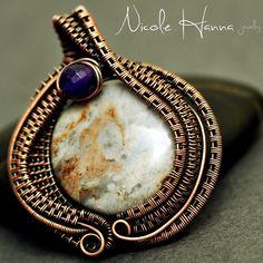 Copper Egg Pendant | JewelryLessons.com