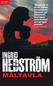 """Författare: Ingrid Hedström """"Astrid Sammils är överhopad av arbete. Som protokollchef på UD är hon ansvarig för planeringen av statsbesök, både inkommande och utgående. Det innebär regelbunden kontakt med såväl kungahuset som statsrådsberedningen. Vid sidan av arbetet har hon en..."""