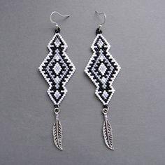 Ethnic Seed Bead Earrings