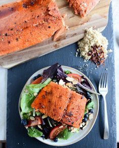 broiled spicy brown sugar salmon