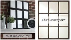She Buys 9 Of These Mirrors From The Dollar Tree And Makes Something You'll Love, For Cheap!
