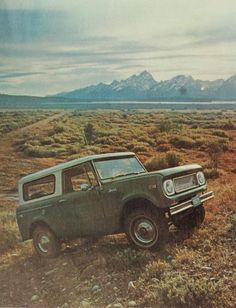 International Harvester Scout.