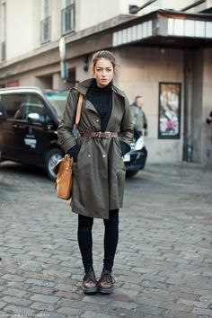 love black+military green+natural leather