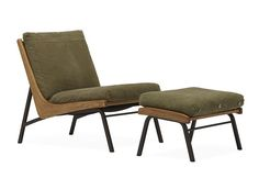 Boomerang Chair & Ottoman by designer Stephen Kenn & Japan's Truck Furniture Studio
