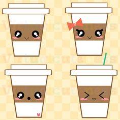 Cute Coffee Clip Art