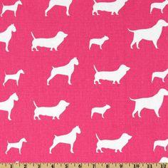 Birdie's Dress? Premier Prints Best Friends Candy Pink/White - Discount Designer Fabric - Fabric.com