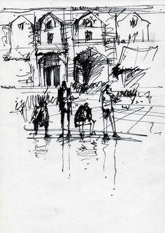 Naqshe jahan square (5) by Behzad Bagheri Sketches, via Flickr
