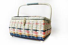 1960s sewing box/basket