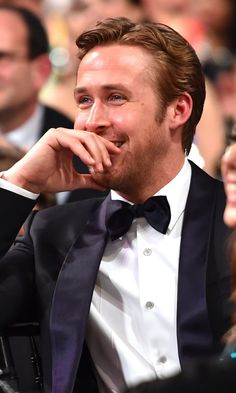 Pin for Later: Yes, Ryan Gosling Was at the SAG Awards This Whole Time