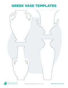 Greek Vase Templates - FLEX Resource