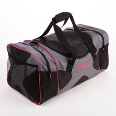 Jaxx Duffel Bag with Padded Carrying Handles (Pink Trim) – Fit & Fresh