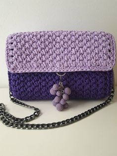 A personal favorite from my Etsy shop https://www.etsy.com/listing/591269456/crazy-purple-bag