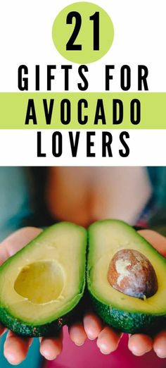 Gifts for Avocado Lovers | A feast of gifts for older women who love avocados.