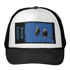 Bald Eagles Mesh Hat by Florals by Fred #zazzle #gift #photogift