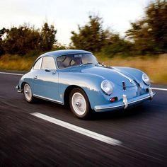 Porsche 356, 1959 #oldtimer
