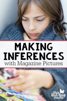 How to Make Inferences with Magazine Pictures - This Reading Mama