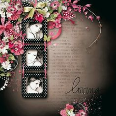 using Lovely Pink by Lilas Design
