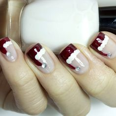 Christmas by thenailnetwork #nail #nails #nailart
