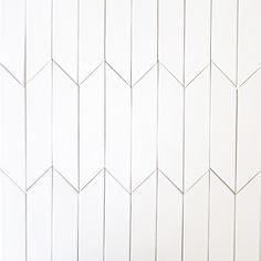 Backsplash - Kiln Ceramic Chevron Subway Tile White Milk Vertical Close-up - headboard Tile Patterns, Textures Patterns, Chevron Tile, Chevron Floor, White Wood Texture, Ceramic Subway Tile, Subway Tiles, Wall Tiles, Shower Tile Designs
