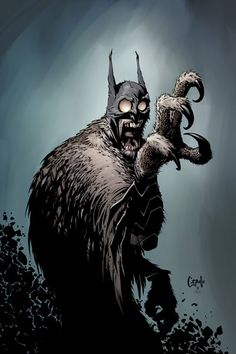 Batman #6   Batman is trapped far below Gotham City in a labyrinth run by the evil Court of Owls. He's insane, dehydrated, and as of last issue, impaled on a giant blade.