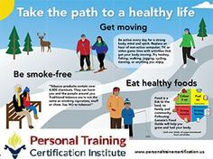 Take the path to a healthy life #goodhealth #healthylife #ptc #personaltrainercertification  Certify or Recertify at personaltrainercertification.us