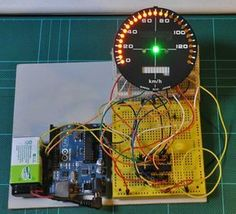 Motorcycle Digital Speedo With Arduino | Martyn Davis | Marengo