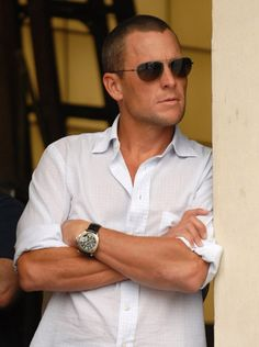 Lance Armstrong. I don't care what anyone says I still love him.