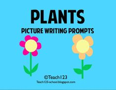 Best Practices 4 Teaching Writing: Plant Picture Writing Prompt