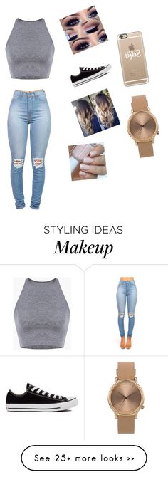 """Untitled #176"" by jjqueenbeauty on Polyvore featuring Converse, Casetify and Topshop"