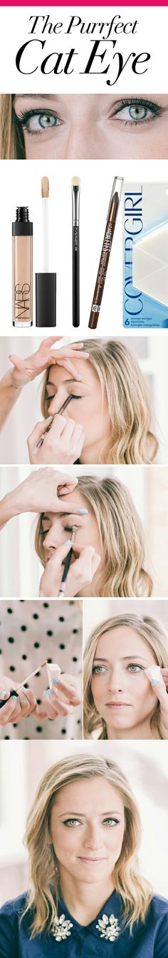 Get the perfect cat eye | DailyCandy