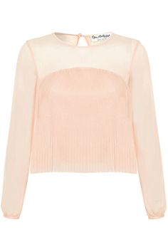 #refinery29 | Miss Selfridge Pleated Blouse, sale $26.12, available at John Lewis.