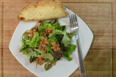Salads and bread