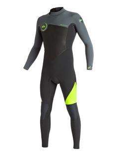Quiksilver - Syncro 5 4 3mm - Back Zip Full Wetsuit Sudaderas De Nike 2fff6c13ddf