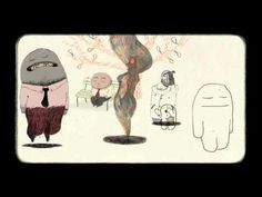 Le Banc : 2009 - Directed by Bruno Salamone & Kitty Crowther. Surreal short about a man sitting on a park bench while his lucid dreams come to life (at least, that's what I think it's about).