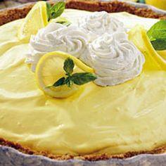 cool summer lemon pie Recipe
